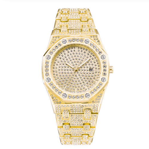 Speicl edition luxury watch - gold - diamond - 50% discount